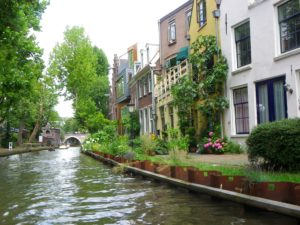 Homes along the Oudegracht