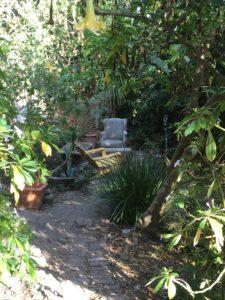 Garden along Greenwich Steps