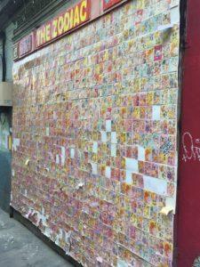 Wall in Jack Kerouac Alley