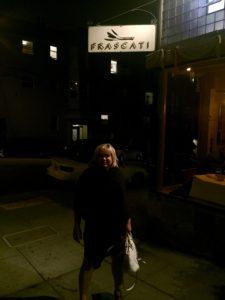 Frascati Restaurant on Hyde Street
